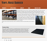 Vinyl Noise Barrier